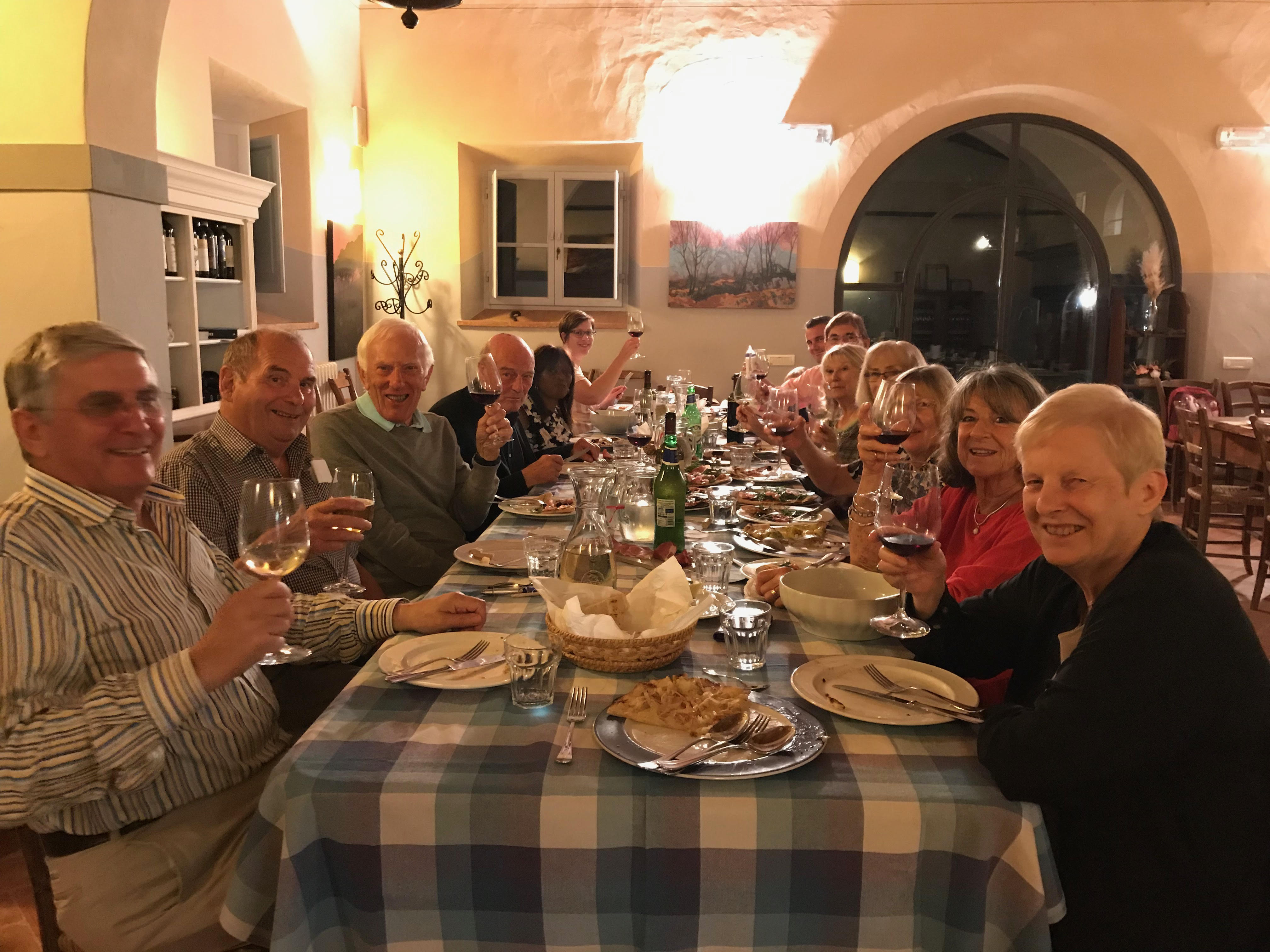 Bon Viveurs on Tour in Tuscany - September 2019